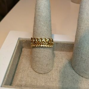 Stella and Dot Briar Sparkle ring